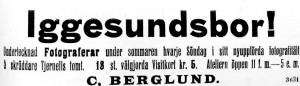 Hudiksvallsposten den 6 juli 1907.