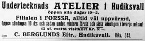 Hudiksvallsposten den 5 november 1913.