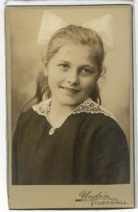 Inga Undén visitkort Hudiksvall (privat).