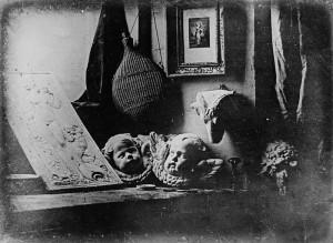 """""""Still Life"""" Daguerre 1837"""