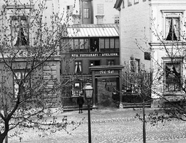 Ateljén på Storgatan 26 i Gävle (Länsmuseet Gävleborg Nr 187703)