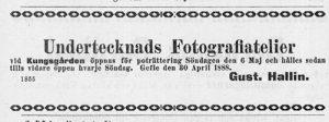 Norrlandsposten den 4 maj 1888.