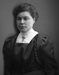 Porträtt av Agnes, bilder från en utställning på Alfta Hembygdsgård