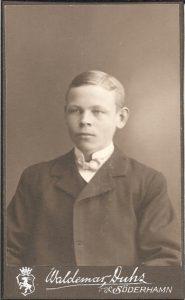 Waldemar Duhs visitkort Söderhamn (PF191981).