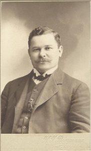 K.I. Beermann visitkort Edsbyn PF122204.