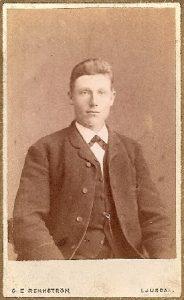 C.E. Rehnstrom visitkort Ljusdal (PF84097).
