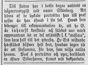Helsingen den 6 augusti år 1858.