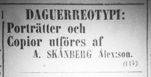 Norrlandsposten den 24 maj år 1860.