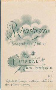 Rehnströms Atelier visitkort Ljusdal (P204_0008R).