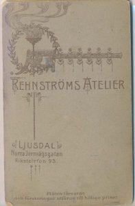 Rehnströms Atelier visitkort Ljusdal (P302_0007F).