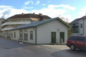 Gårdshuset, mot norr, 2017 (foto: privat).