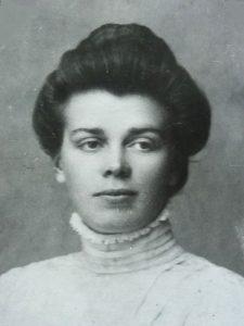 Porträtt på Thilda Magnusson, ca. 1900-1910 (privat).