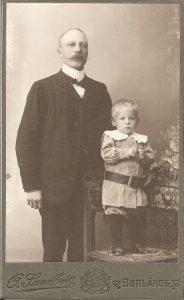 O. Sundberg visitkort Borlänge (PF192674).