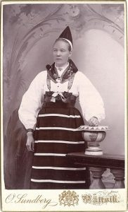 O. Sundberg visitkort Rättvik (PF123786).