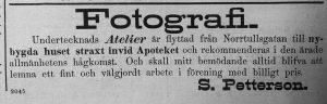 Söderhamns Tidning den 7 september 1889.