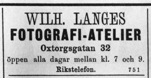 Söderhamns Tidning den 15 april 1893.
