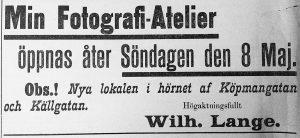 Söderhamns Tidning den 6 maj 1898.