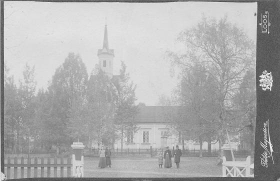 Thilda Magnusson kabinettkort Los kyrka (PF201773).