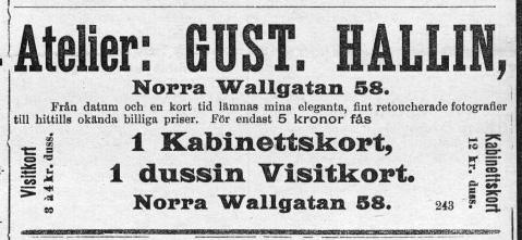 Arbetet (Malmö) den 23 januari 1895.