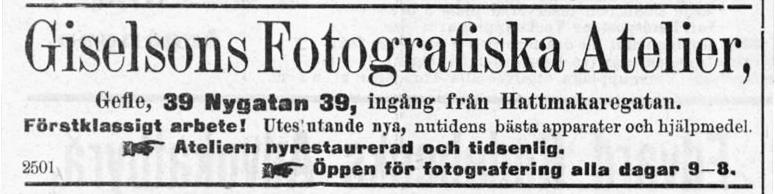 Norrlandsposten den 30 maj 1903.