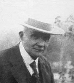 Porträtt på Natan Giselsson, ca. 1940-tal, DiBiS.
