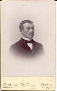 Hjalmar Jn Hesse visitkort Uppsala (PF9134).