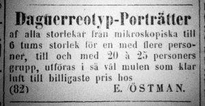 Norrlandsposten den 24 maj 1860.