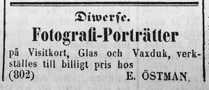 Norrlandsposten den 3 april 1862.