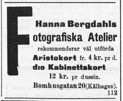 Norrlandsposten den 10 januari 1902.