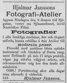 Sundsvalls Tidning den 6 december 1888.