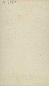 Eventuellt visitkort av C. J. Kling, bak, Länsmuseet Gävleborg, Digitalt Museum XLM.U02864.