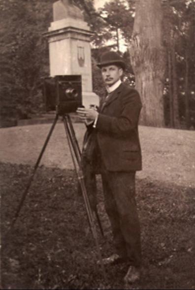 Porträtt på Fredrik Herman Renard, Ancestry.