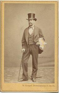 W. Renard visitkort Stockholm (PF185497).