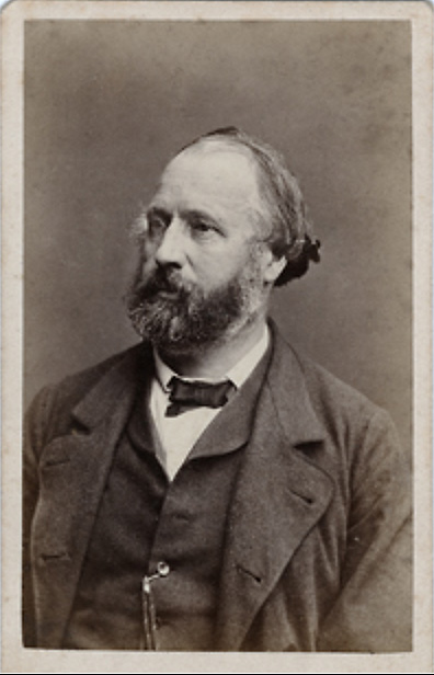 Porträtt på Woldemar Renard (Photospuren).
